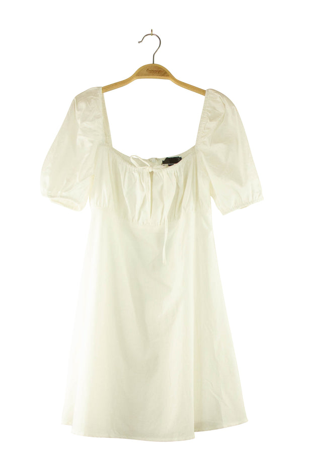 Nightingale Dress in Off White