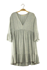 Victoria Dress in Grey
