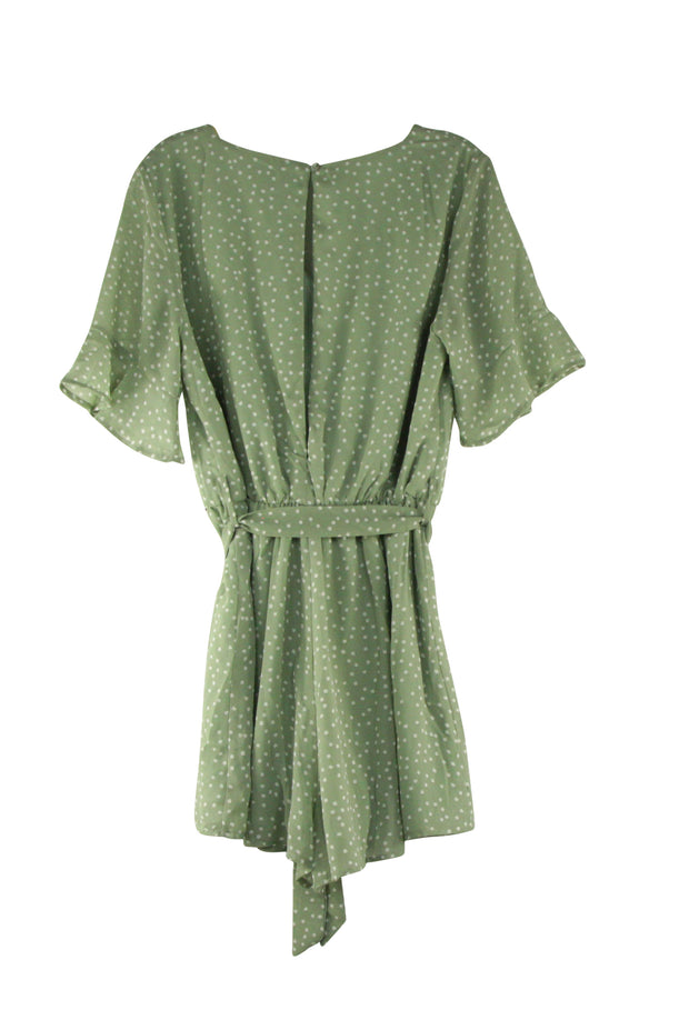 Bella Romper in Light Green