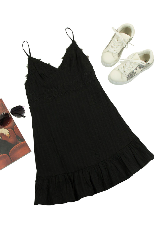 Peace of Mind Dress in Black