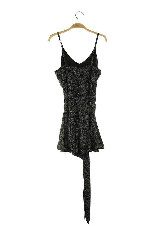 Dazed Romper in Black