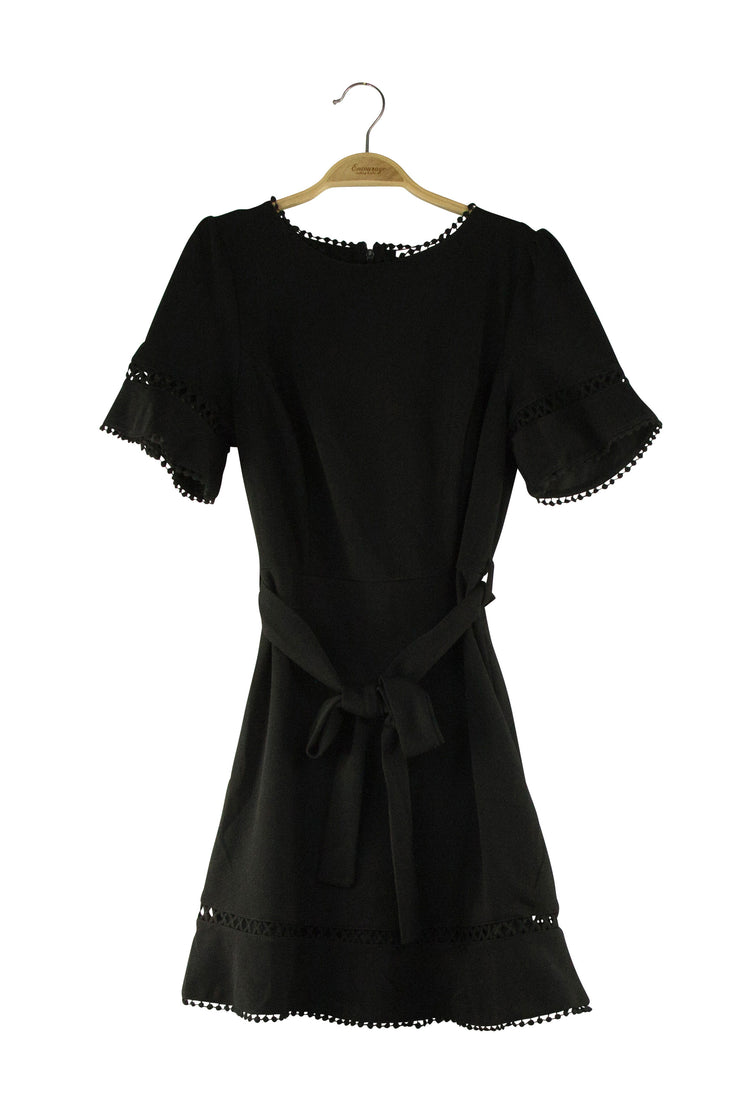 Serene Dress in Black