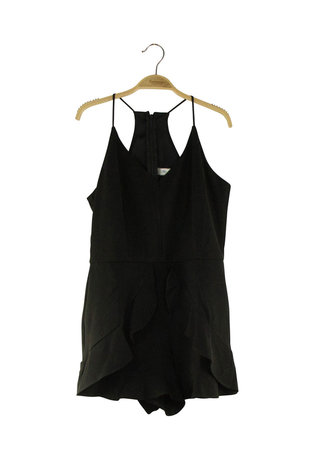 Tulip Romper in Black