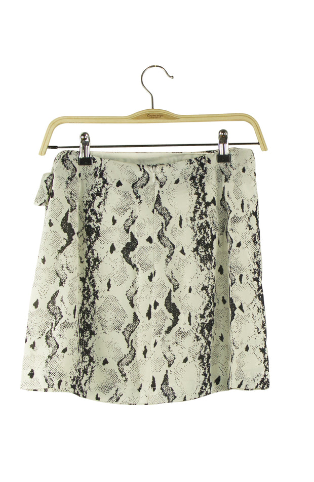 All Wrapped Up Skirt in Snake Print