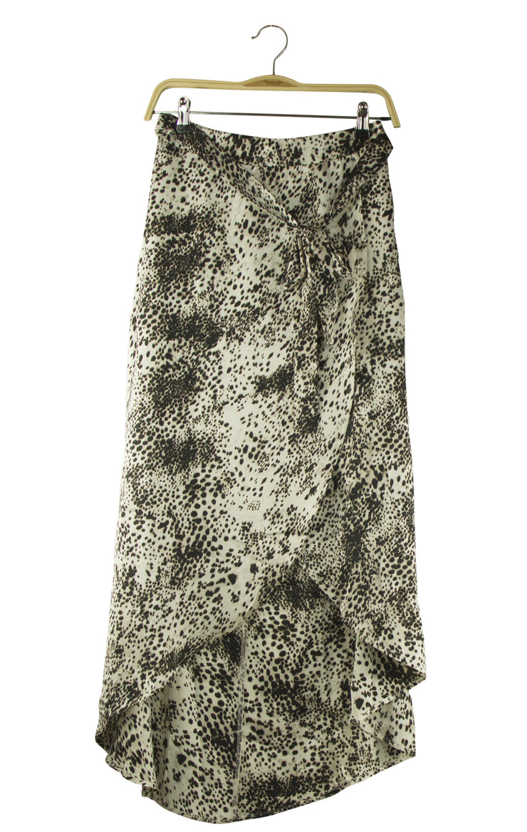 Total Eclipse Skirt in Leopard Print