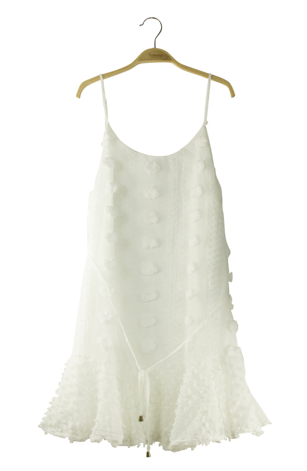 Total Elegance Dress in Off White
