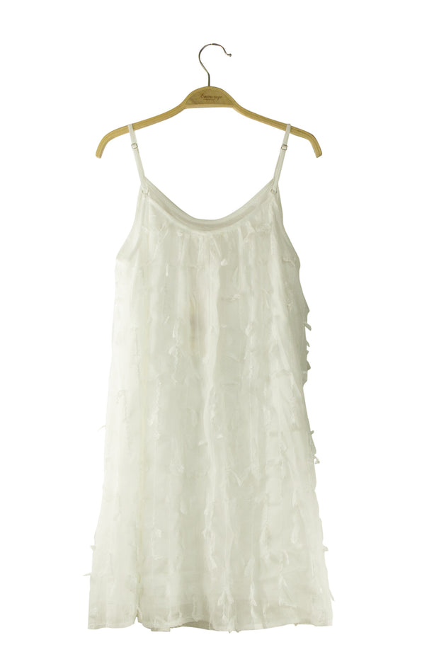 Swan Lake Dress in Off White