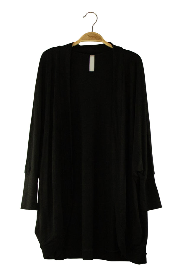 Can't Go Wrong Kimono in Black