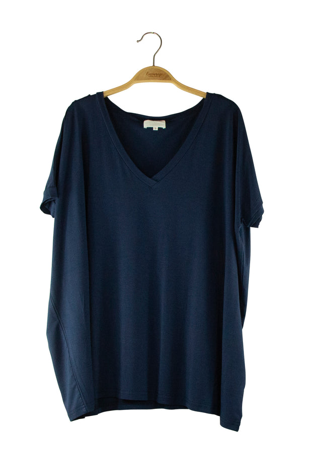Piko Top in Dark Blue
