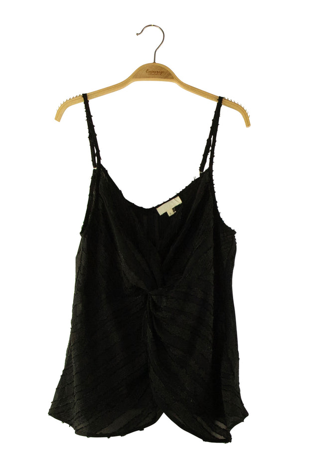 Knock Out Top in Black