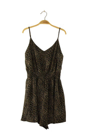 As Good As It Gets Romper in Black