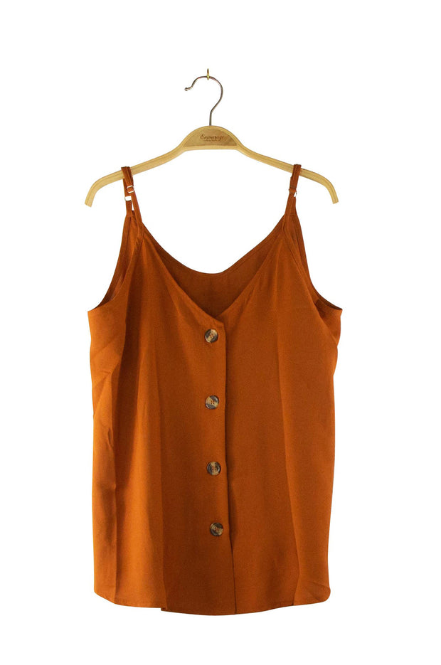 Simplicity Top in Dark Orange