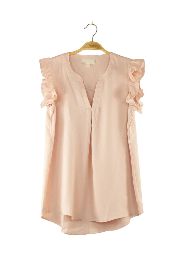 Attention to Details Top in Light Pink