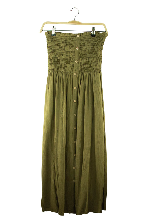 Love Bound Dress in Dark Green