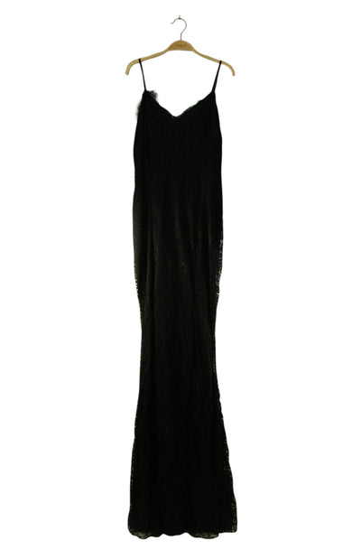 Proceed with Caution Dress in Black