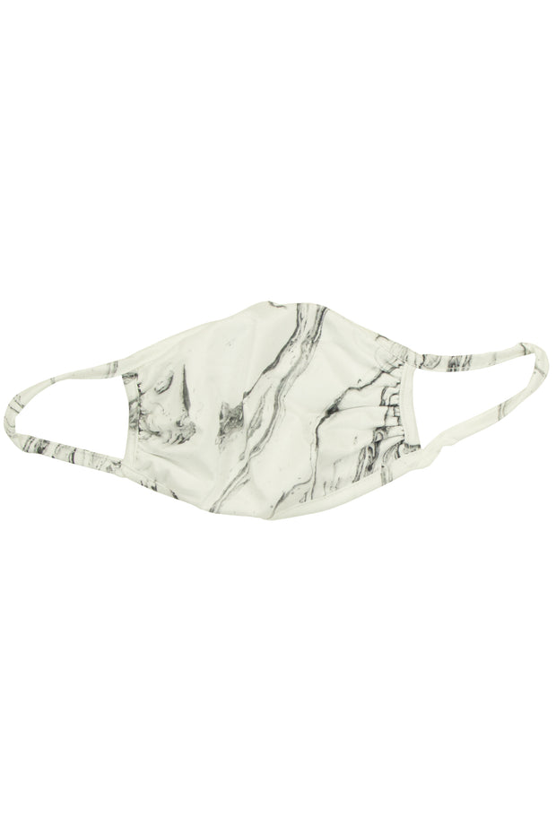 Go Away Corona Masks with Marble Print