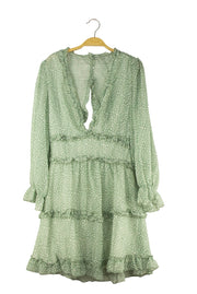 Into the Breach Dress in Green