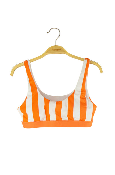 Seashore Dreams Suit Top in Orange