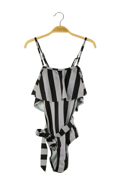 Total Diva Bathing Suit in Black