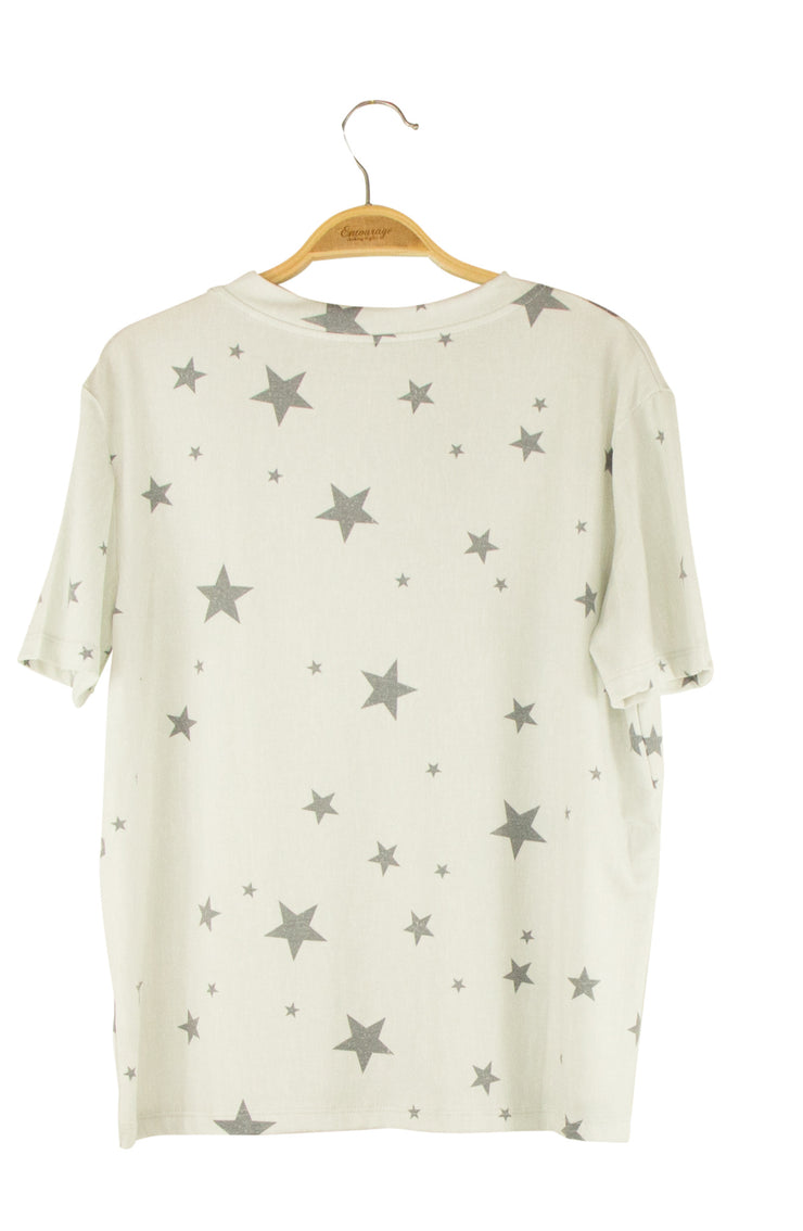 Starry Night Top in Grey
