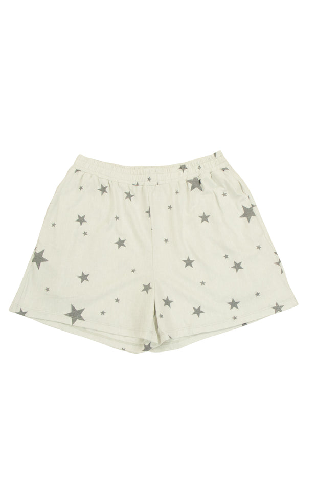 Starry Night Shorts in Grey