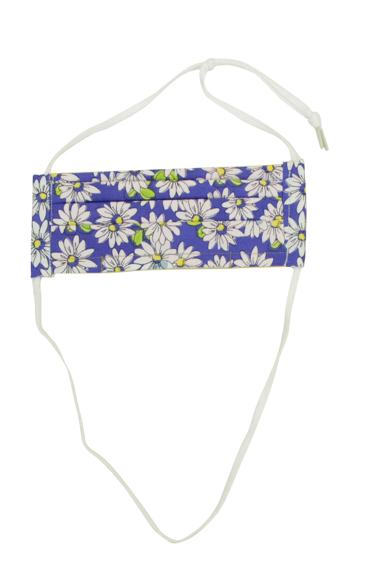 Not Today Corona Mask in Daisy Print