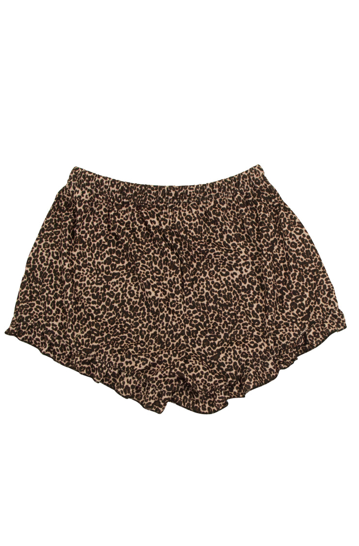 Get Snug Shorts in Leopard Print