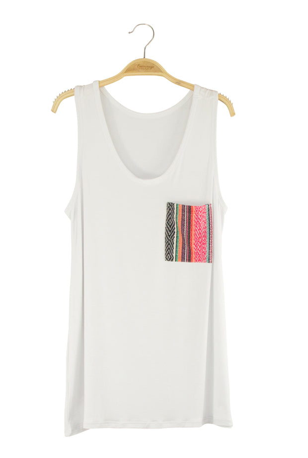 Visionary Tank in White
