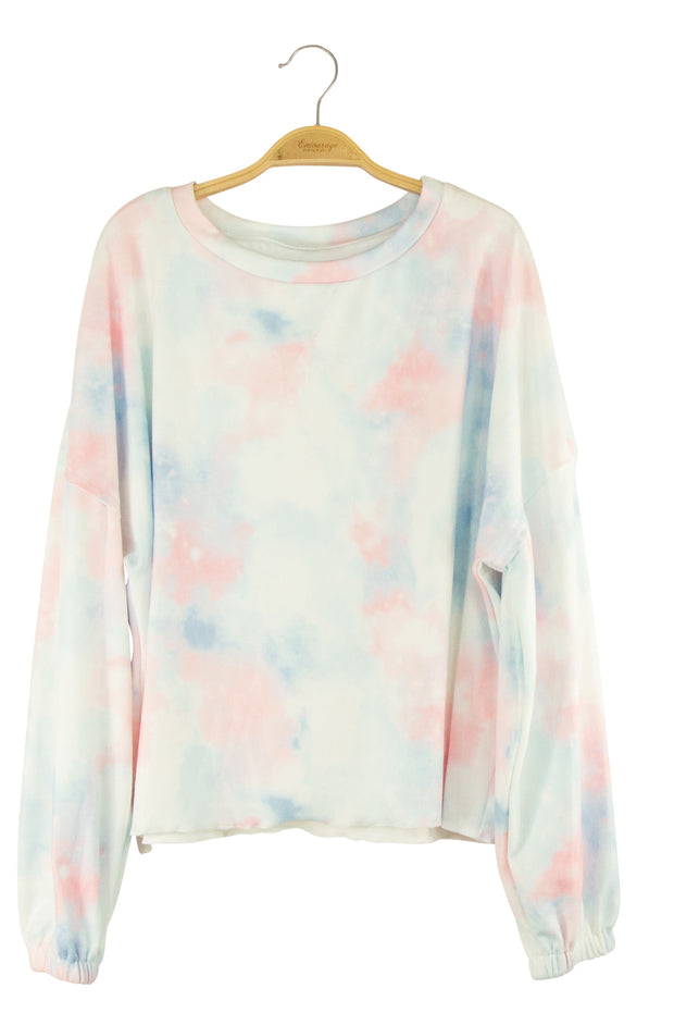 Sweet Dreams Top in Light Blue and Pink