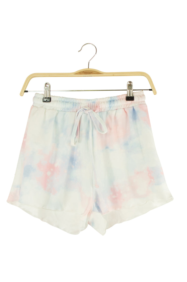 Sweet Dreams Shorts in Light Blue and Pink