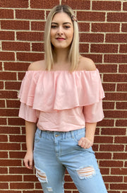 Allure Top in Pink