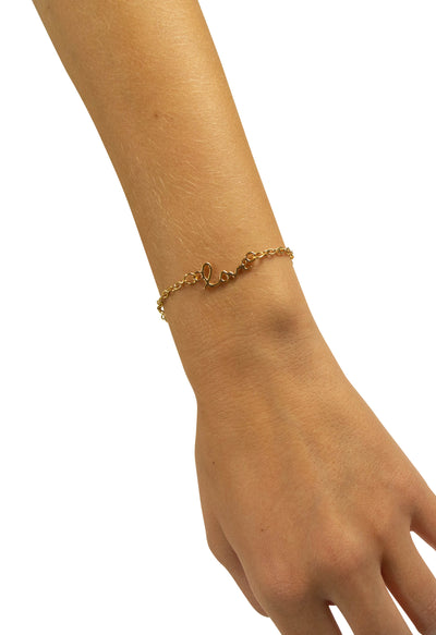 Wrapped in Love Bracelet in Gold
