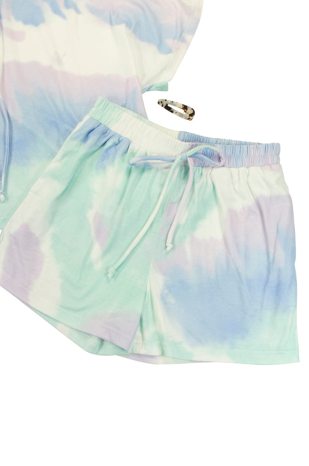 Cotton Candy Shorts in Purple