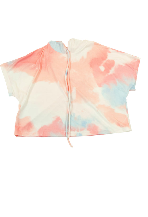 Cotton Candy Top in Pink