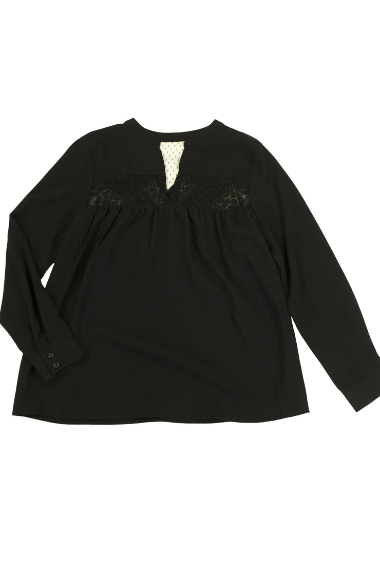 Love and Lace Top in Black
