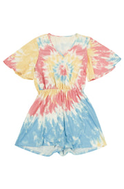 Soakin' Up the Sun Tie Dye Romper