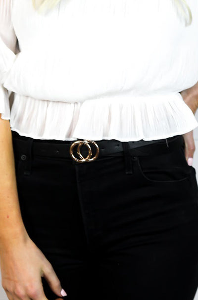 Highly Qualified Belt in Black
