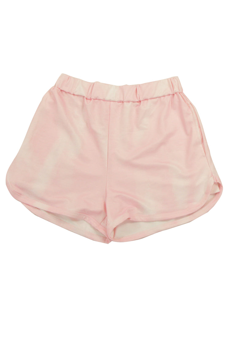 Tye up Loose Ends Shorts in Pink