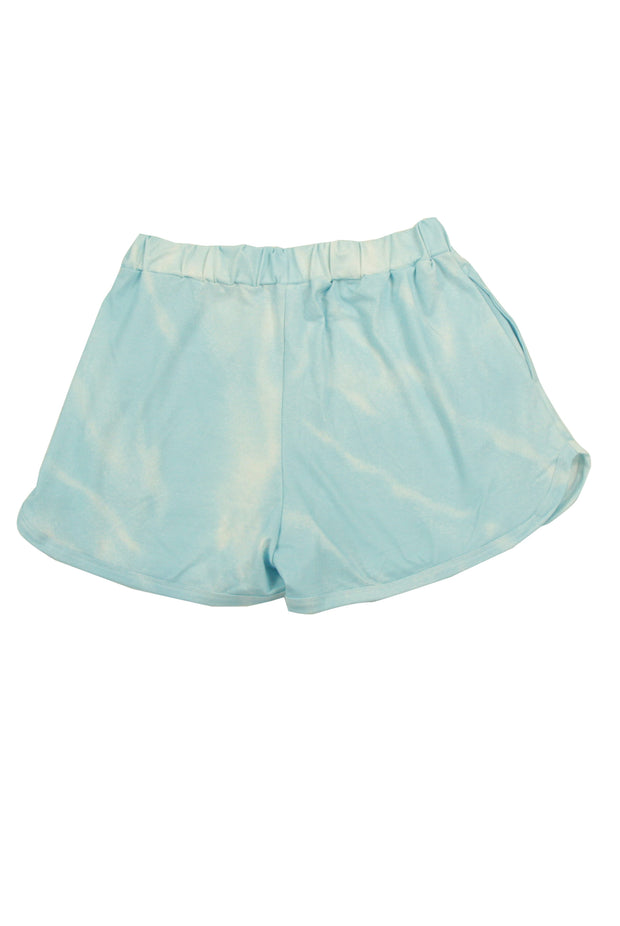 Tye up Loose Ends Shorts in Blue