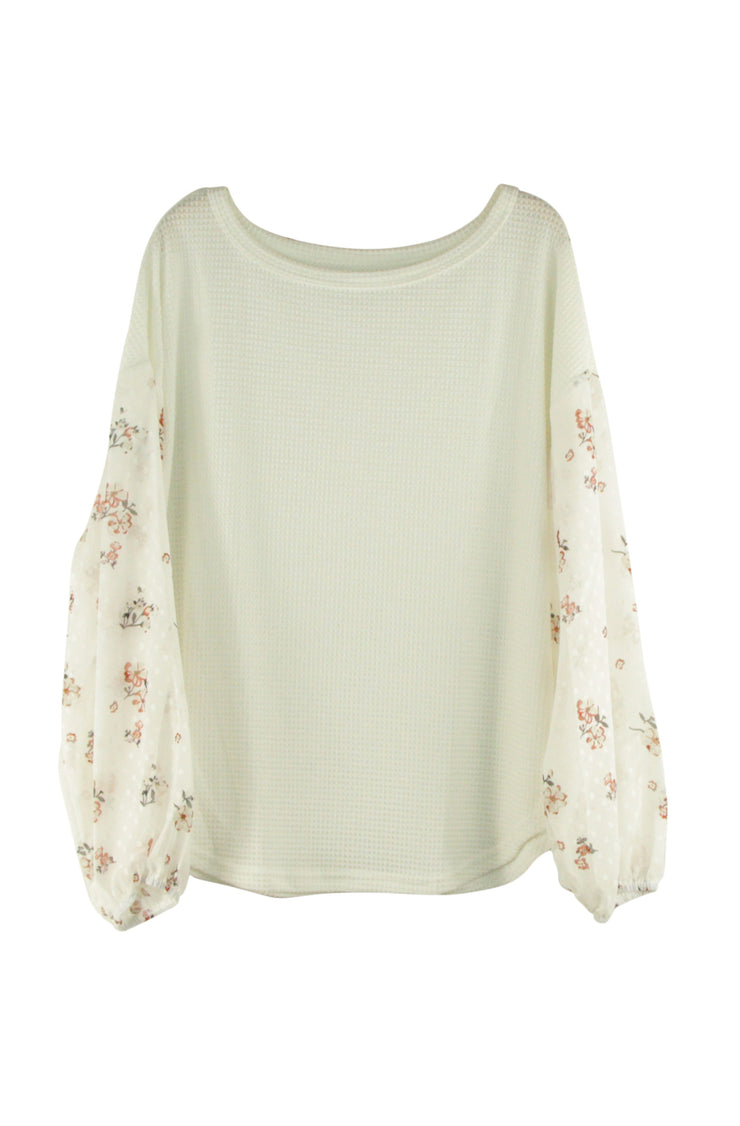 Blossom Top in White