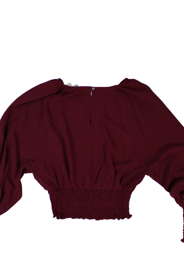 Compassionate Top in Dark Red