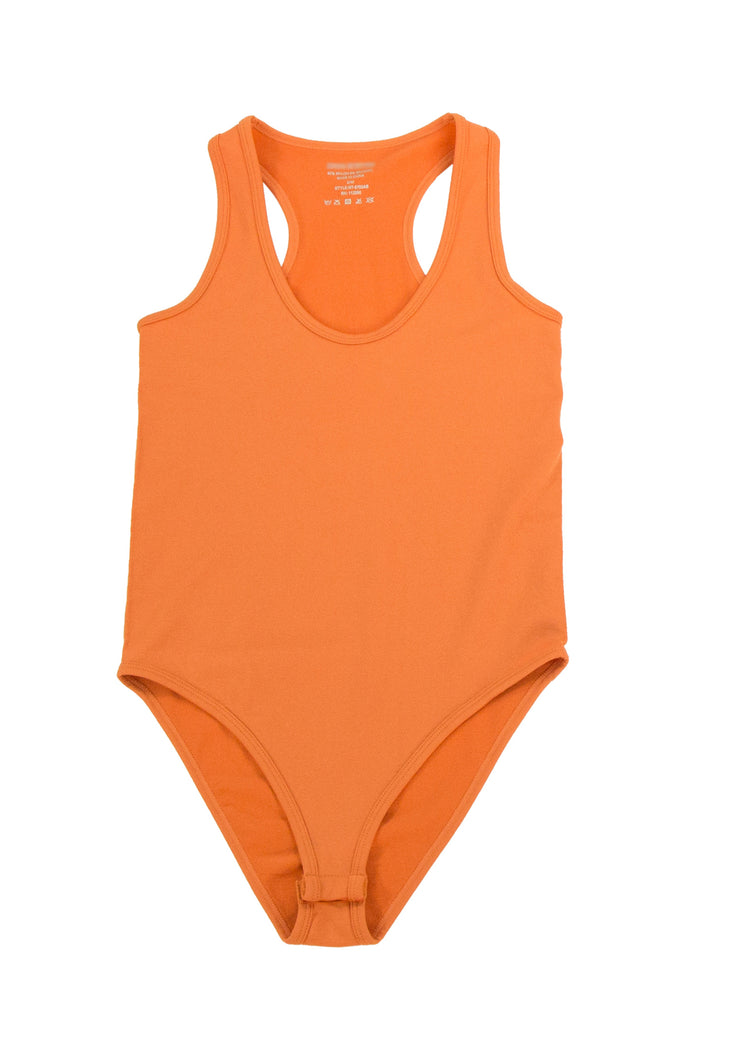 One of a Kind Bodysuit in Orange