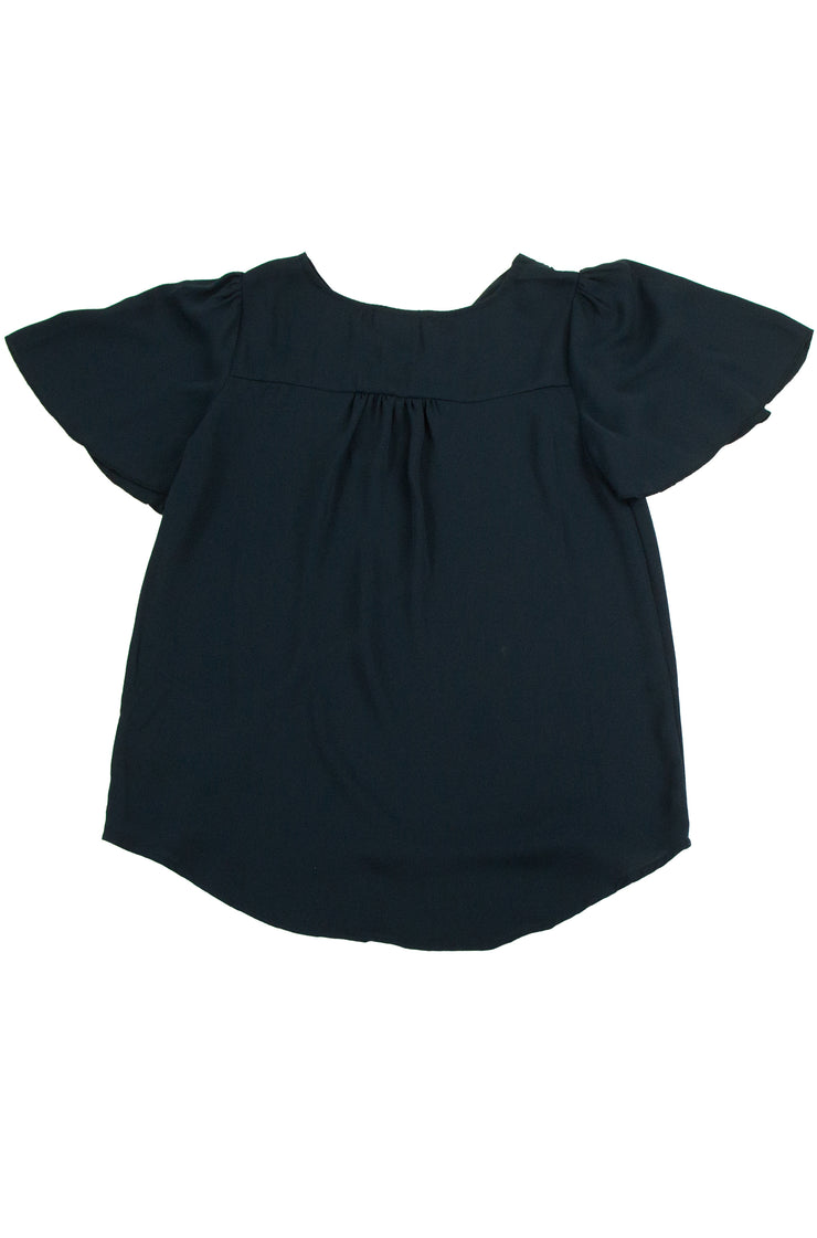 Highly Regarded Top in Dark Blue