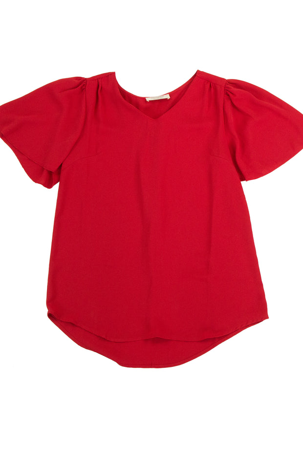 Highly Regarded Top in Red