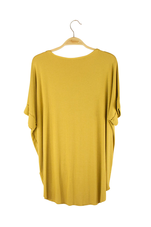 Splendid Top in Dark Yellow