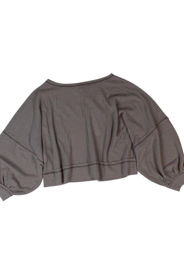 Untroubled Top in Light Brown