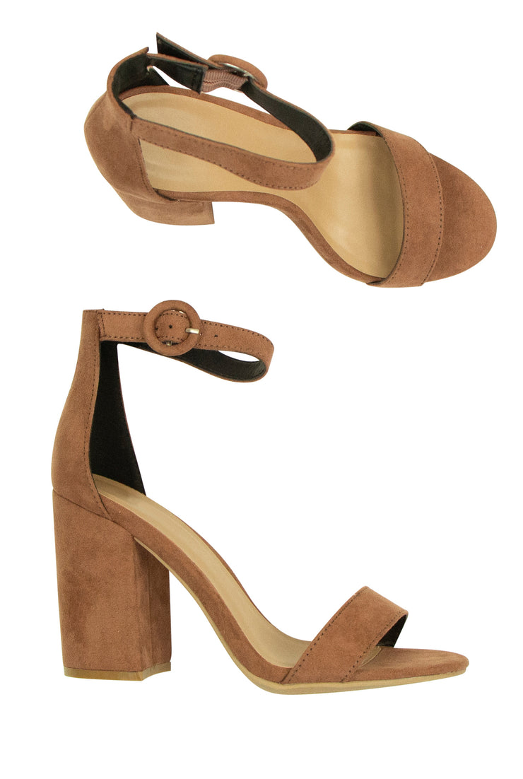 Perfect 10 Heels in Brown