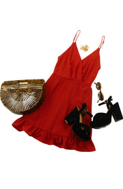 Party Time Dress in Red