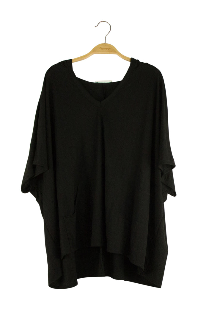 Well Established Top in Black