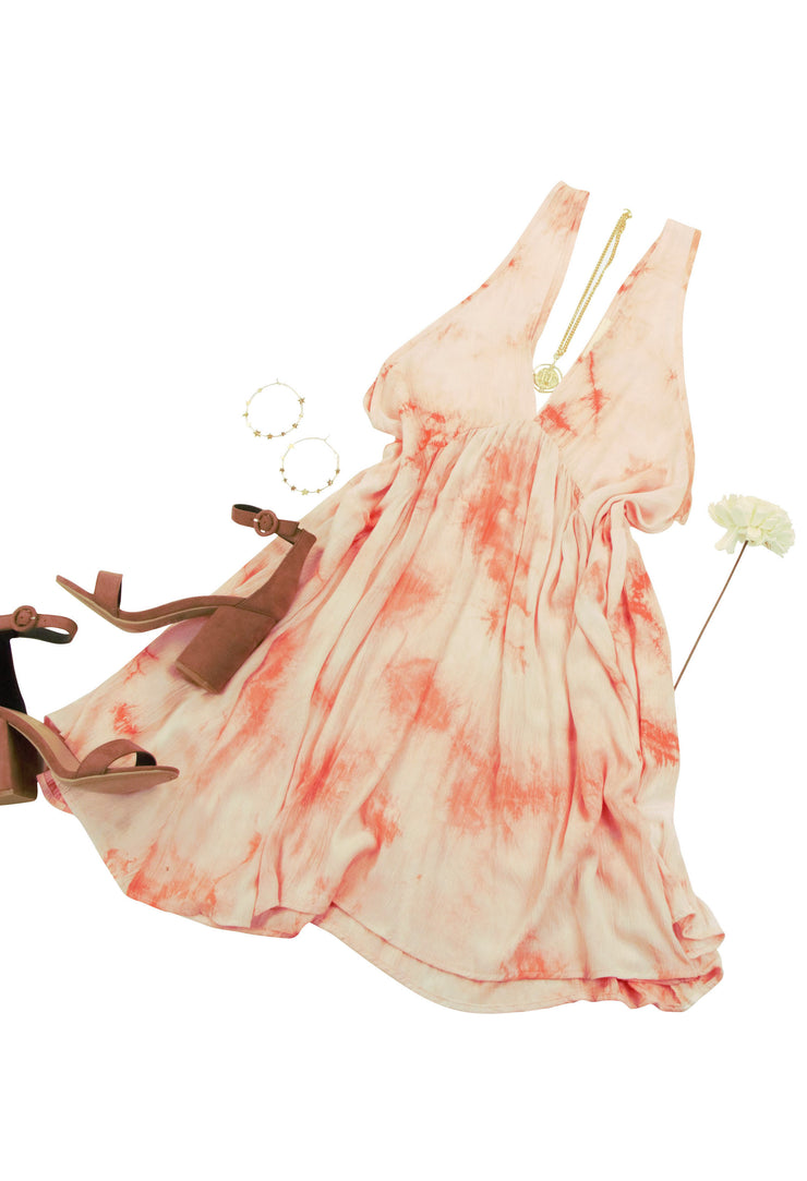 Picturesque Dress in Pink
